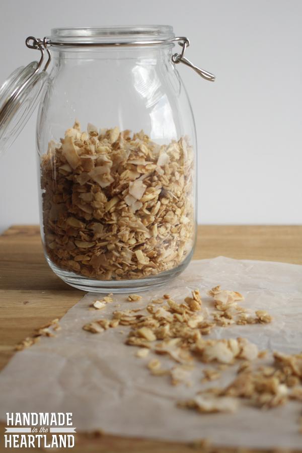 Gluten-Free Coconut Granola
