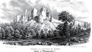 Patrimoine de l'Allier: château de Murat