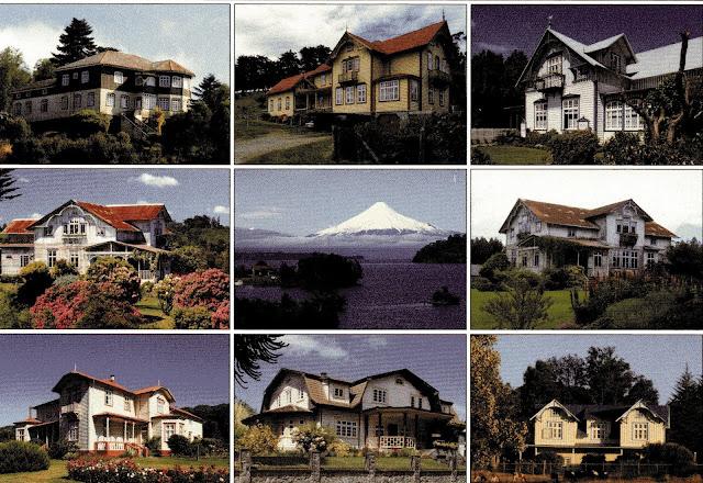 casas em estilo alemão ao redor do Lago Llanquihue