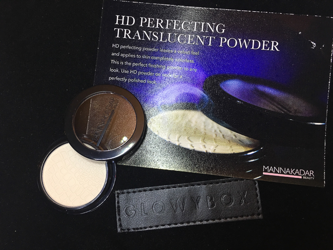 GlowyBox July Box Review MannaKadar HD Powder
