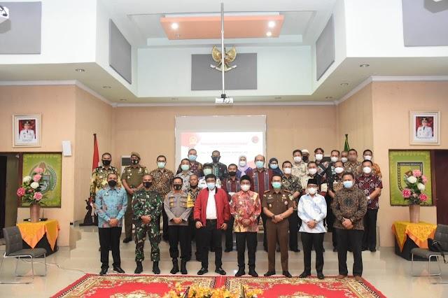 Kapolres Sergai Hadiri Kunker DPR RI Drs. H. Djarot Saiful Hidayat