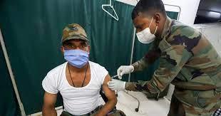કોરોના રસી: પ્રથમ ડોઝ 99% આર્મીના જવાનોને આપવામાં આવ્યો , 82% ને બીજો ડોઝ પણ મળ્યો છે