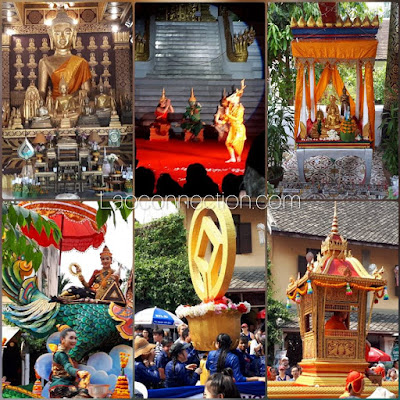 Celebrating Lao New Year 2562 in Luangprabang