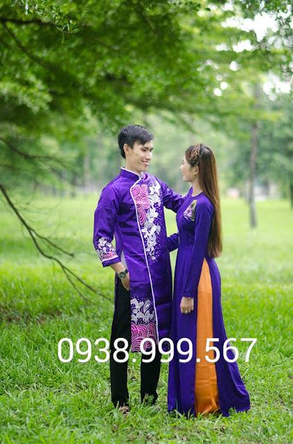Cho thuê áo dài chụp ngoại cảnh, chụp hình cưới