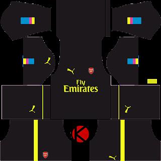 Arsenal Kits 2016/2017 - Dream League Soccer 2016