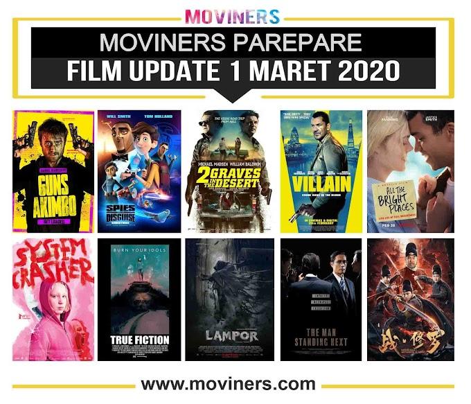 FILM UPDATE 1 MARET 2020