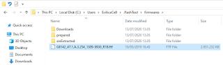 Location firmware Sony Xperia FlashTool