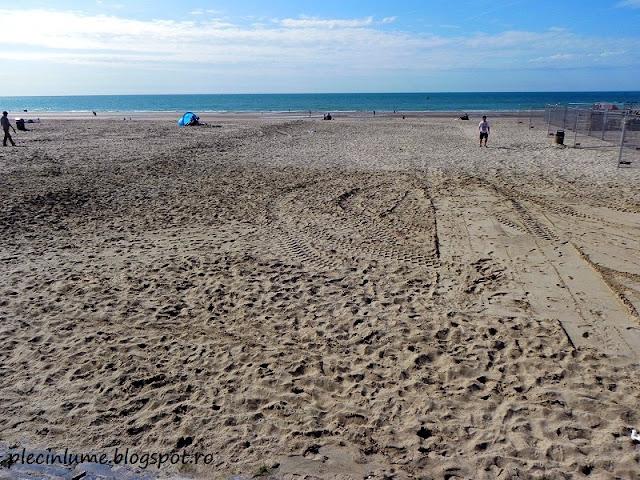Plaja din Oostende, Belgia