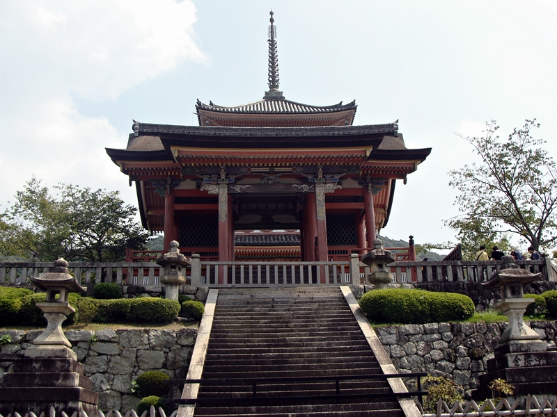 Kiyomizudera Tempel in Kyoto, Japan