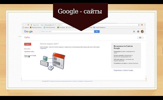Google-сайты
