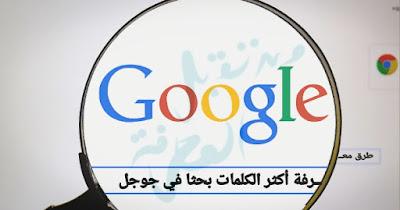 تعرف في هذا المقال على أهم طرق معرفة أكثر الكلمات بحثا في جوجل