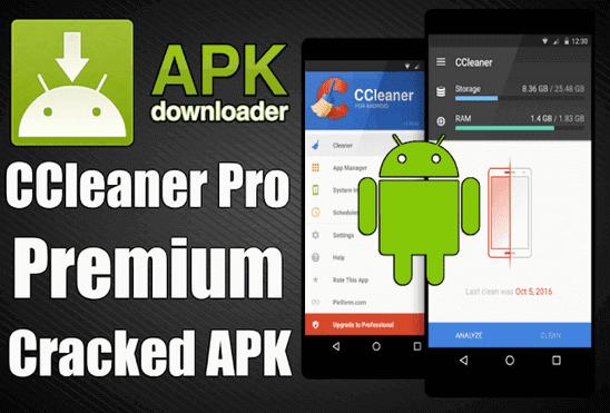 تحميل تطبيق CCleaner Pro APK عملاق تسريع وتنظيف الهاتف إصدار مدفوع مجانا للأندرويد