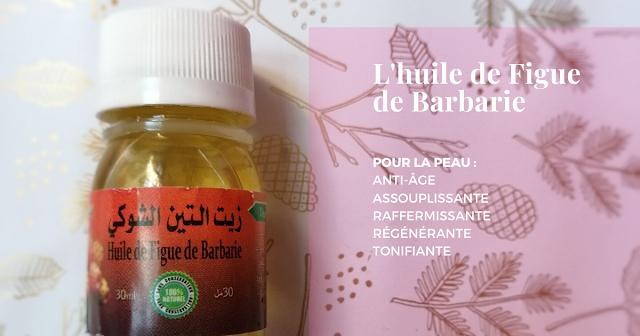 huile de figue de barbarie