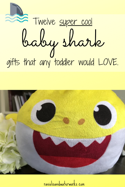 baby shark gifts; toddler gift ideas; baby shark fans; first birthday gifts; second birthday gifts; baby shark birthday party