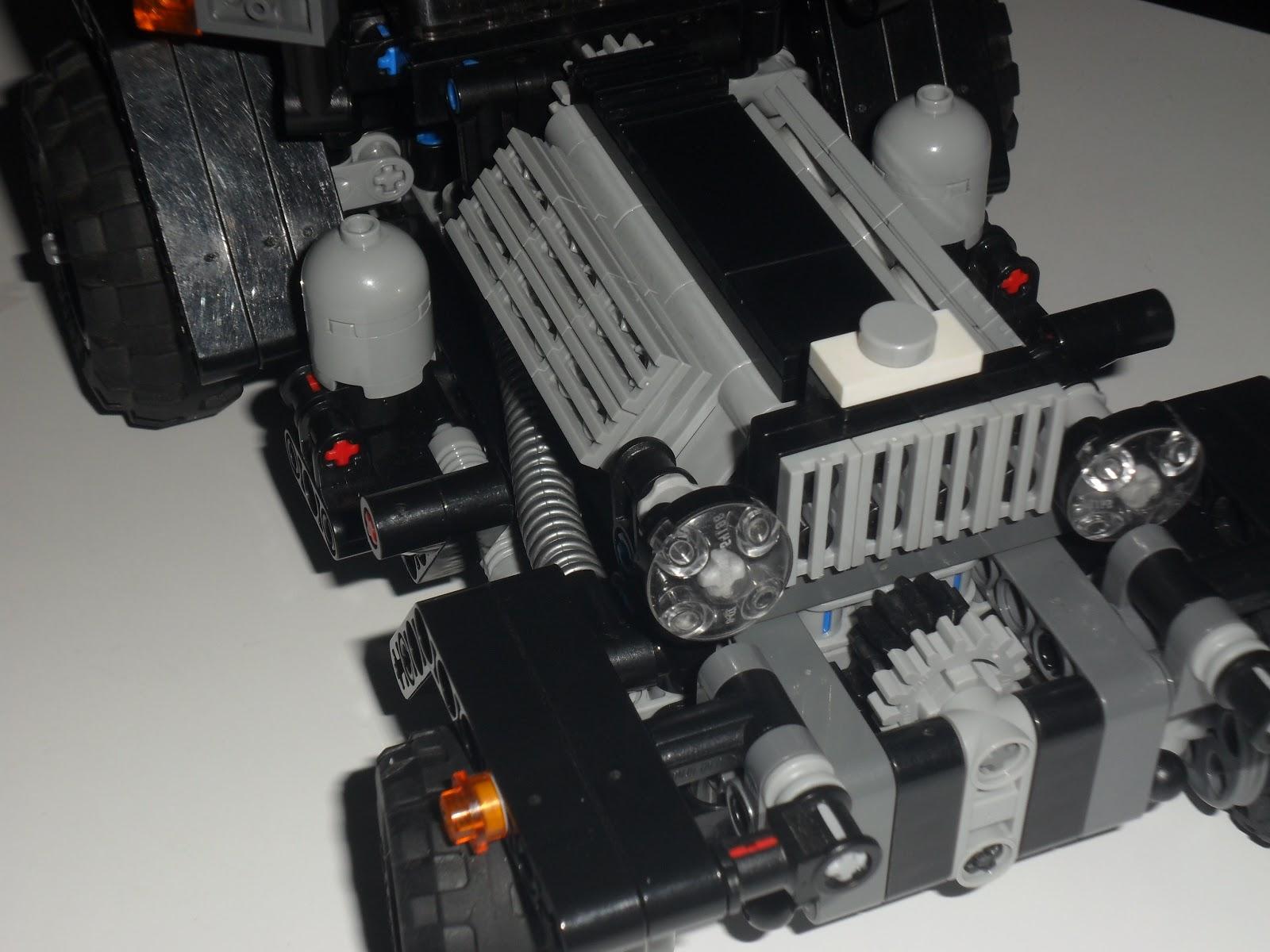 Lego Technic Hub Lego Technic Hot Rod X 1 Moc Building Instructions