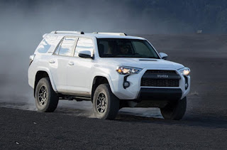 Toyota TRD Pro  Exterior dimensions: TRD Pro 4x4, Manual/ Automatic