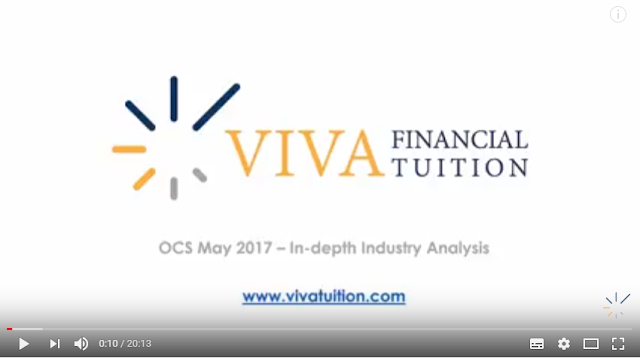 Industry analysis preview video OCS May 2017 - Ashworth Lea - CIMA