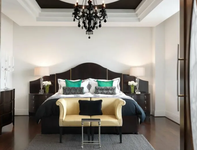 1. Gothic bed room ideas for Small areas