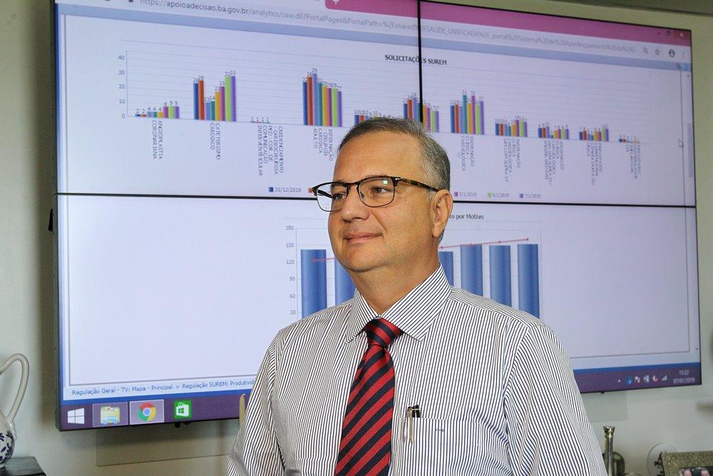 Secretário de saúde do estado, Fábio Villas Boas / Foto: Secom-BA