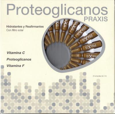 Proteoglicanos Praxis. Vitaminas para mi piel - Blog de Belleza Cosmetica que Si Funciona