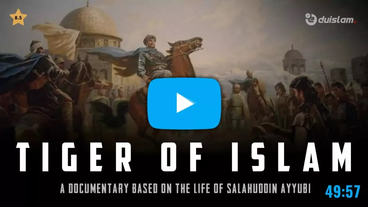 Salahuddin Ayyubi Tiger of Islam movie in urdu