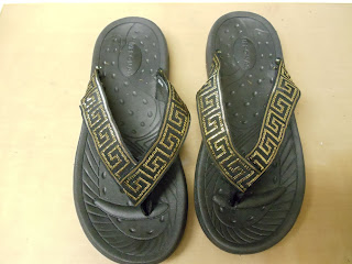 One-of-a-Kind Flip Flops with Velcro® Brand Fasteners 5
