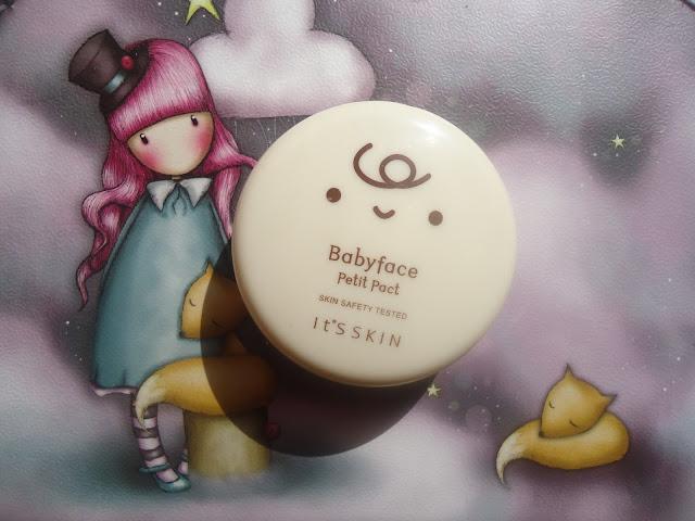 babyface petit pact it's skin poudre matifiante