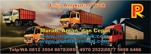 Angkutan Truk Fuso di Jakarta