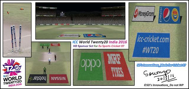 HD Studioz ICC World T20 2016 Graphics Set For Cricket 07
