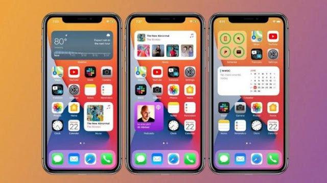 Tema iOS/ iPhone Mtz Untuk Xiaomi MIUI 12, 11 dan 10 Tembus Aplikasi