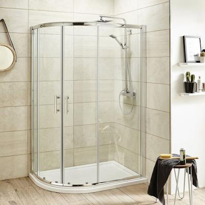 Offset Shower Enclosures