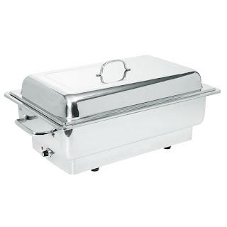Chafing Dish Electric, Vas Incalzire Inox, Produs profesional HoReCa, Pret Chafing Dish