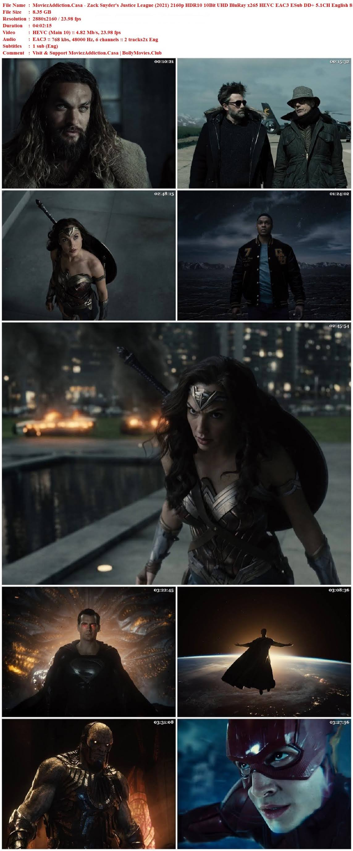 Download Zack Snyder's Justice League