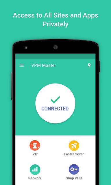 تحميل برنامج VPN master لفتح المواقع والتطبيقات المحجوبة