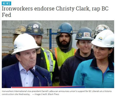Ironworkers endorsement