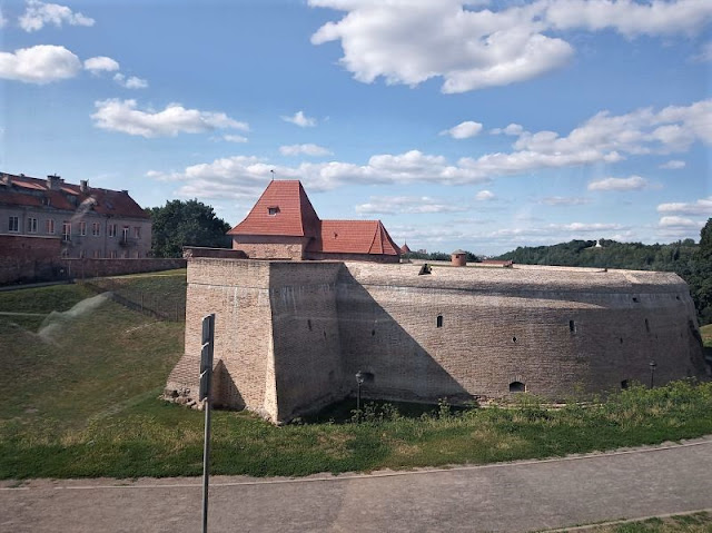 il bastione difensivo nelle mura di vilnius