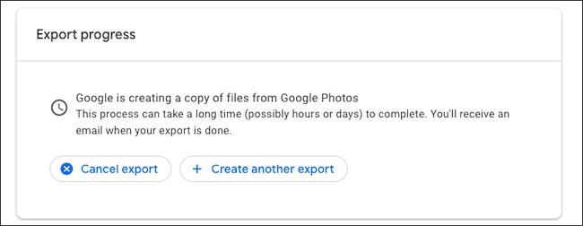 إلغاء تصدير النسخ الاحتياطي لصور Google