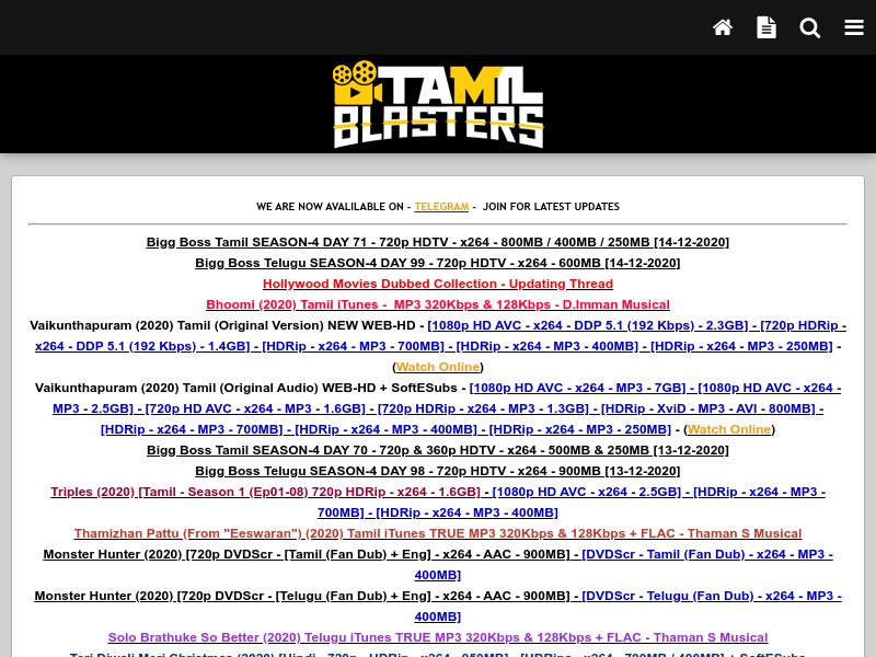 TamilBlasters Tamil Movie download