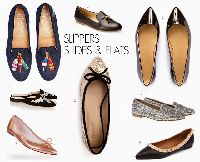 slippers, slide and flats, shoes, what every woman needs