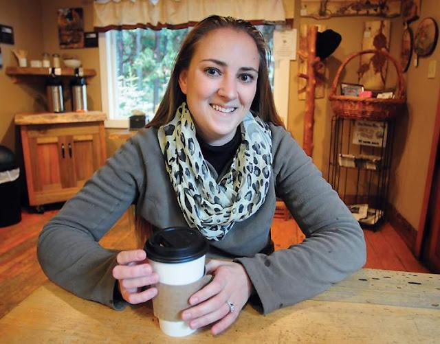 La alcaldesa sorda de Angels Camp, Amanda Folendorf
