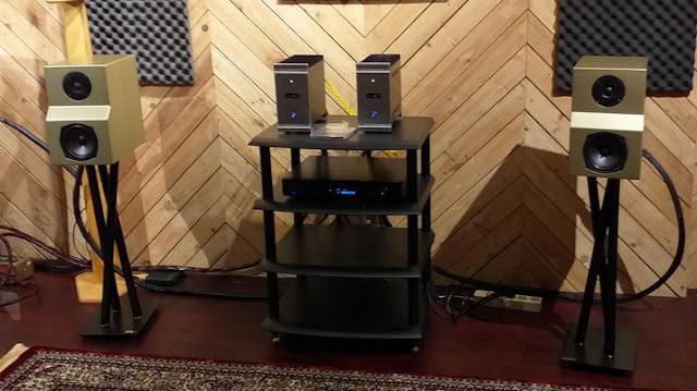 Sistem 3: Simfoni BL100T dan Speaker Gen1 Gold Series
