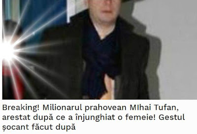 wiki tragic mihai tufan si-a injunghiat sotia ramona ileana