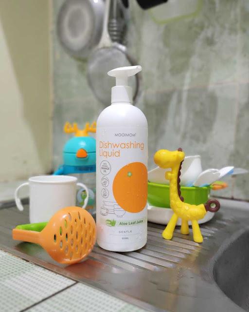 review oh my orange antibacterial dishwashing liquid