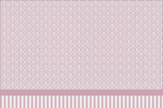 damascos blancos sobre lila  invitaciones para imprimir