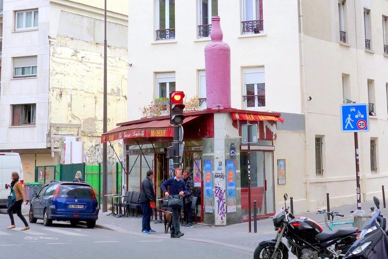 Paris l 39 insolite enseigne de la brasserie la grosse for 4 rue richard lenoir