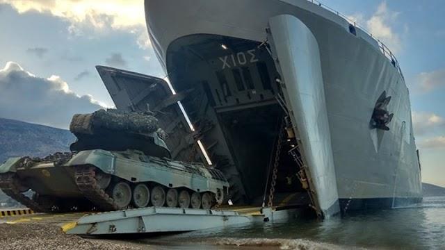 Αλλαγή δομής στο Πολεμικό Ναυτικό: Τα αρματαγωγά στον Βόλο για τους Πεζοναύτες