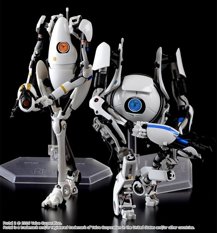 P Body e Atlas de Portal 2