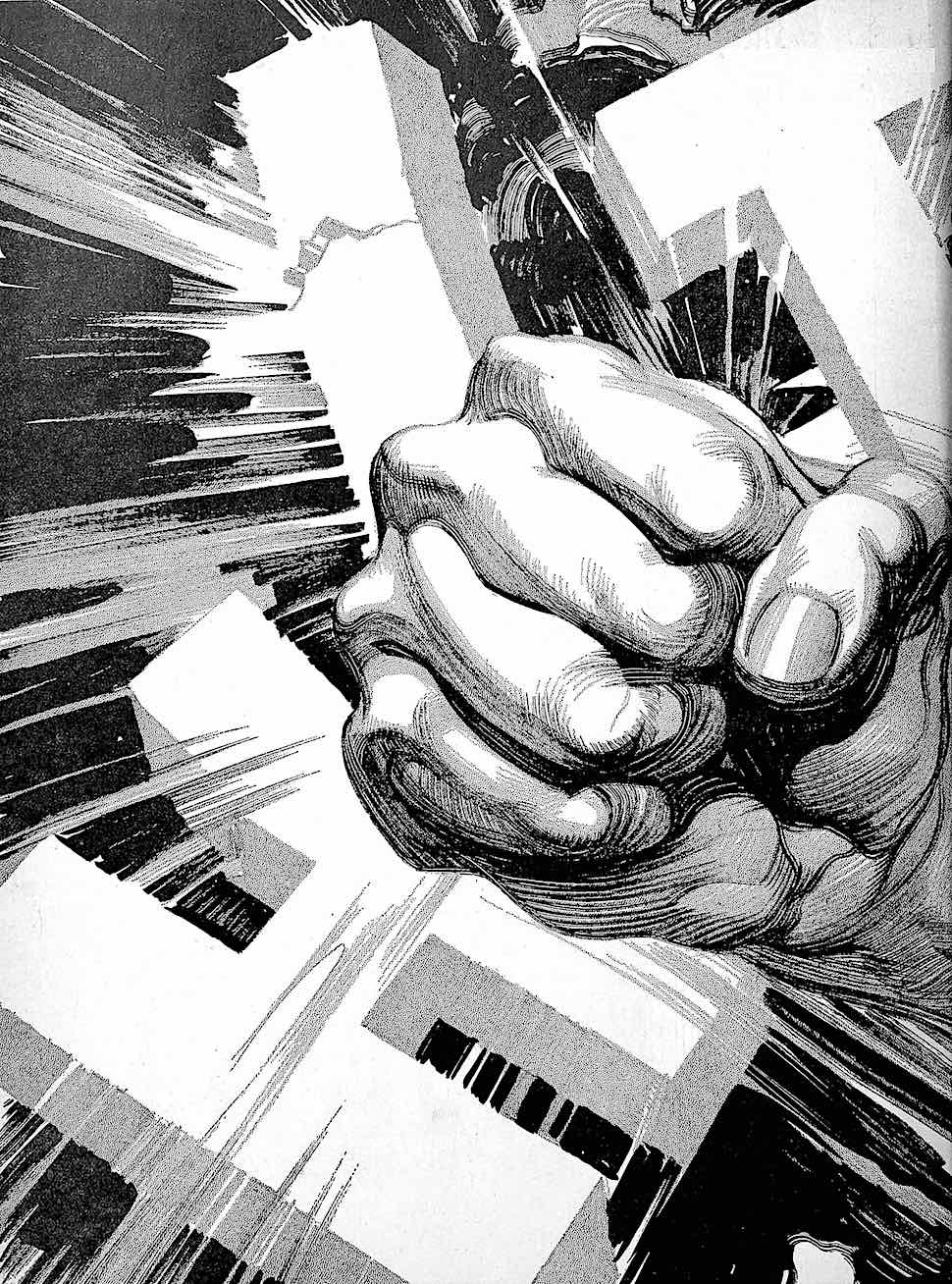 HIT, a 1932 advertising graphic of a smashing fist