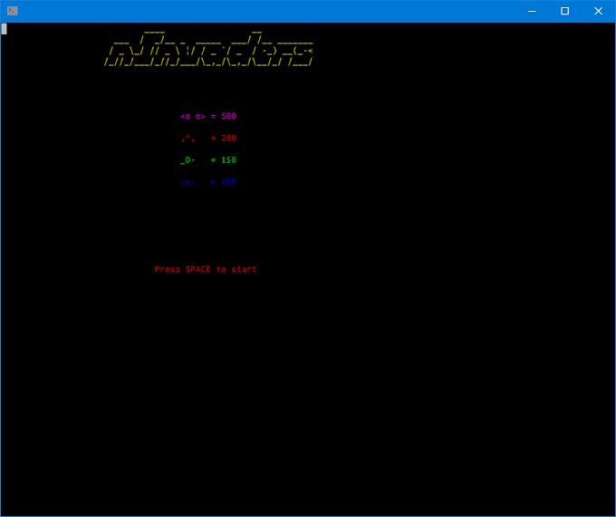 CLIでできるインベーダーゲーム ninvaders