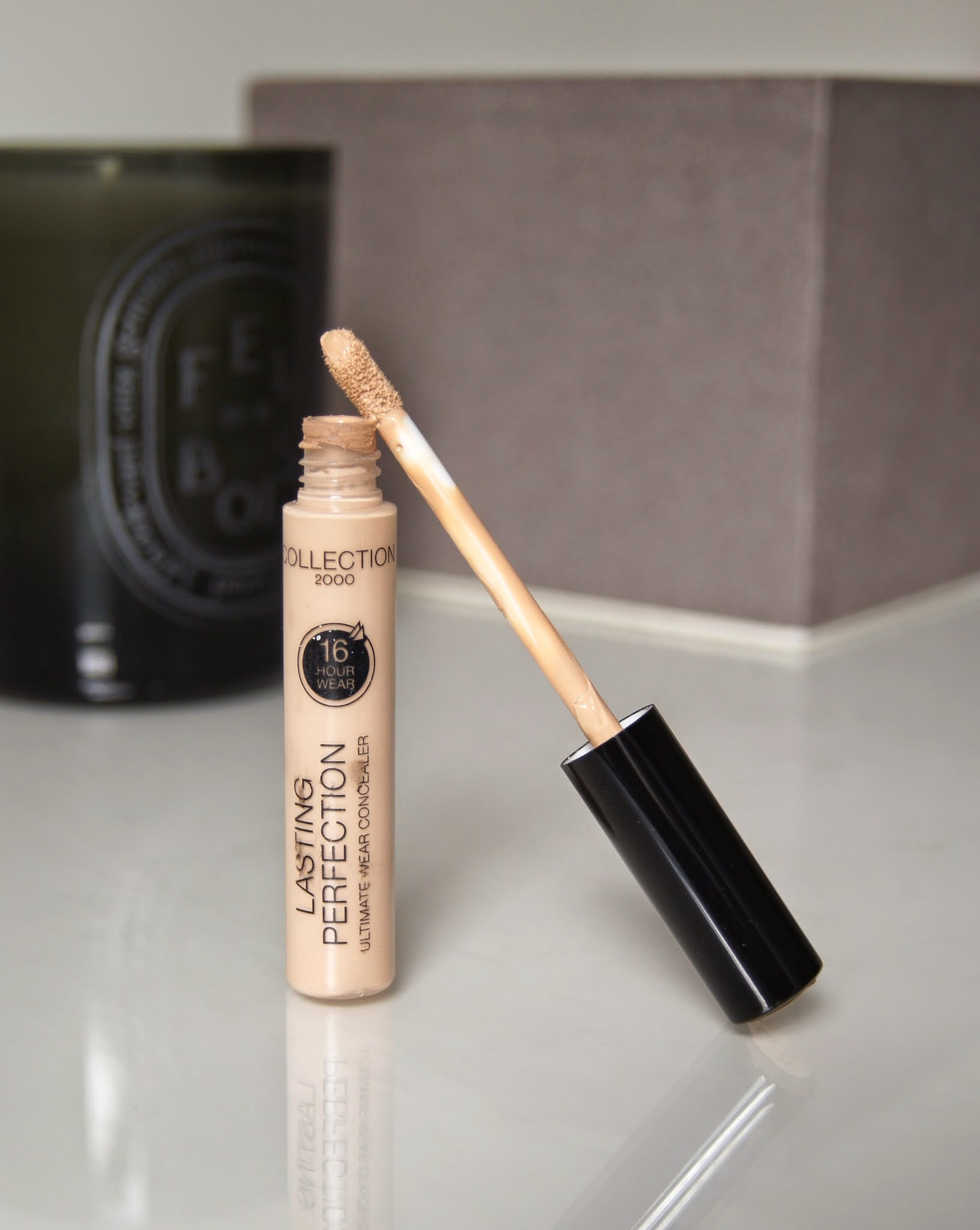 collection lasting perfection concealer review swatch